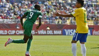 Nigéria bate Brasil (3-0) e avança às semifinais do Mundial Sub-17