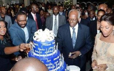 Cerca de USD 30 milhões gastos em festa de aniversário do Presidente