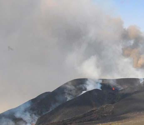 Erupção Vulcânica: Povoação de Portela poderá ser engolida nas próximas horas